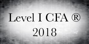 2018 - Level I